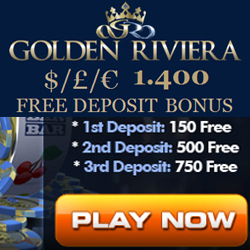 Golden Riviera Casino Current Promotion