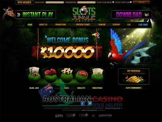 slots jungle online casino